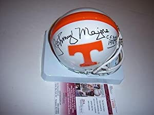 Johnny Majors Tennessee Volunteers 1987 C-hof Jsa coa Signed Mini Helmet -... by Sports+Memorabilia
