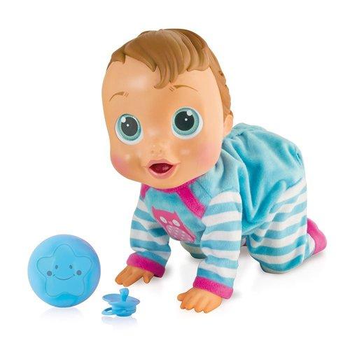 IMC - Muñeco bebé interactivo con 12 funciones y accesorios (94727)