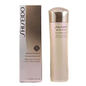 Shiseido Benefiance Wrinkleresist24 Balancing Softener for Unisex, 5 Ounce