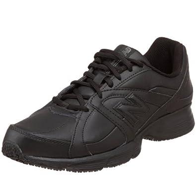 New Balance Men's MW512 Walking Service Shoe,Black,7 D US