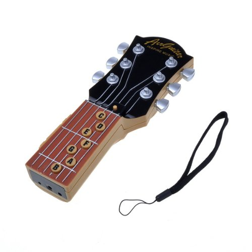 BestDealUSA Black IR infrared Electronic Music Air Guitar Educational Kids Toy Gift