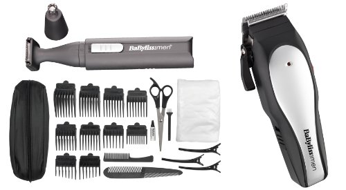 BaByliss For Men 7495HU Turbo Light Pro Clipper Set