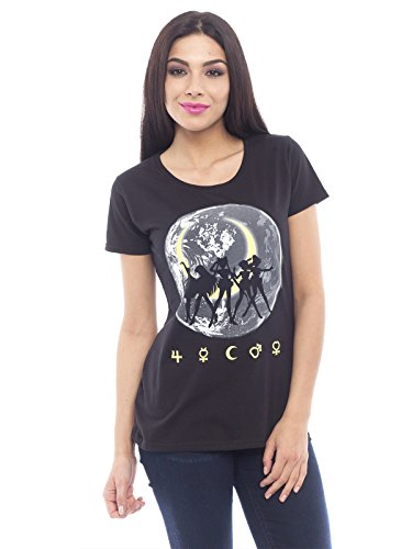 Sailor Moon Shadows In The Moon Maglia donna nero S