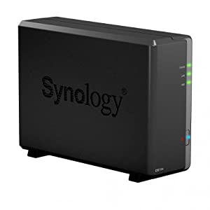Synology DS114 DiskStation NAS Compact Server (1-bay)