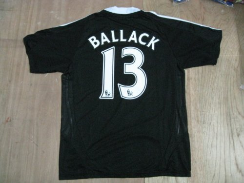 08-09 CHELSEA AWAY JERSEY BALLACK + FREE SHORT (SIZE M)