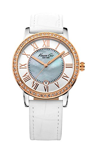 kenneth-cole-kc2836-reloj-para-mujeres-correa-de-piel-de-borrego-color-blanco