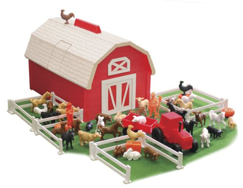 Best Farm Animal Toys For Toddlers : Toy farm sets tier toys animal stackers barn yard set
