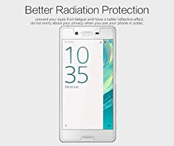 Nillkin Screen Guard for Sony Xperia X & Sony Xperia X Dual Whole Set Version Matte Anti Glare Front + Clear Back