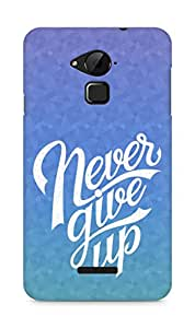 AMEZ never give up Back Cover For Coolpad Note 3