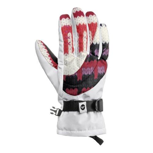 Roxy Damen Snowboard Handschuhe Meadow Glove, mob peru jacq, M, WPWSG104-32-M