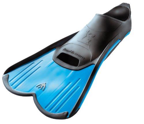 Plong e cressi dp182033 palmes l g res bleu pointure 33 34 for Palmes courtes piscine