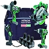 Hitachi Ktl418c 18v 4pce Kit