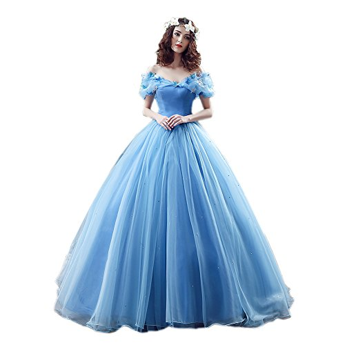 Organza Cosplay Cinderella Dress