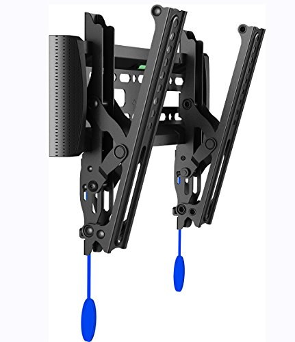 Invision® TV Wall Bracket Mount with Tilt Action for LED LCD & Plasma Screens VESA 200x200 Maximum *Please Check Your TV VESA Mounting Holes before Purchase* Best fit for 17 to 40 Inch TVs (200-T)