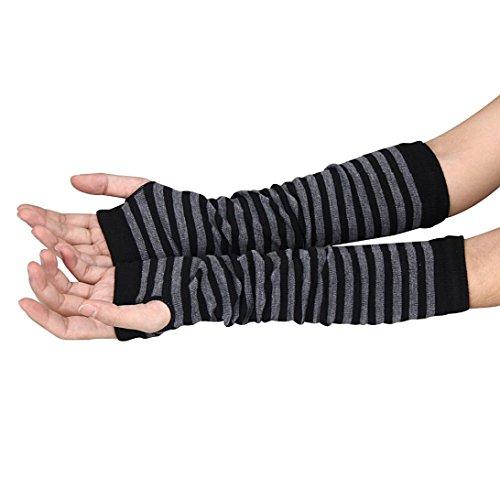 tonseer-winter-wrist-arm-hand-warmer-knitted-long-fingerless-gloves-mitten-black