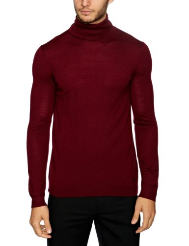 Pringle MF839 Men's Jumper Burgundy XX-Large