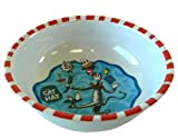 Share your own related images The Cat in the Hat bowl- Dr. Suess' dinnerware