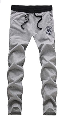Mitten Sweatpants Exercise Recreation Trousers French Grey