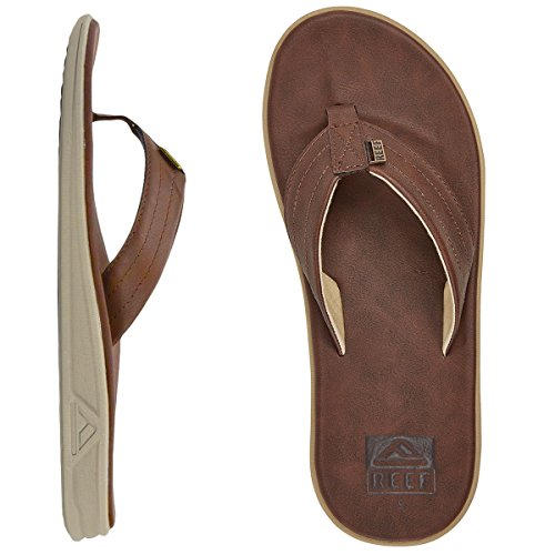 Reef Mens Rover SL Sandal/Flip Flops/Slipper Footwear, Brown, Size 12