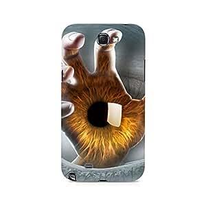 Mobicture Pattern Premium Designer Mobile Back Case Cover For Samsung Note 2