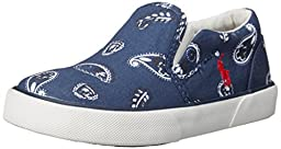 Polo Ralph Lauren Kids Bal Harbour Fashion Sneaker (Toddler/Little Kid), Navy Bandana, 6 M US Toddler