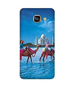 Camels Round Taj Samsung Galaxy A7 2016 Edition Case