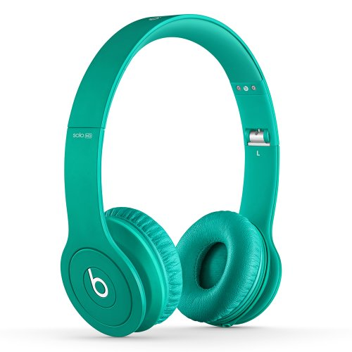 Beats Solo HD On-Ear Headphones (Drenched in Teal)
