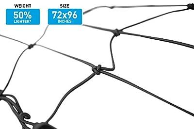 Capri Tools Premium Ultra-Elastic Lightweight Cargo Net with Hooks.