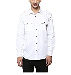 Yepme Men's White Cotton Shirts - YPMSHRT1113_42