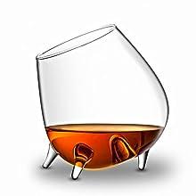 The Wine Savant The Wine Savant Cognac, Wine, Cognac or Whiskey Glass (Tilting)