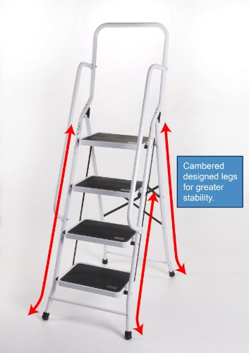SAFETY 4 FOUR STEP FOLDING LADDER
