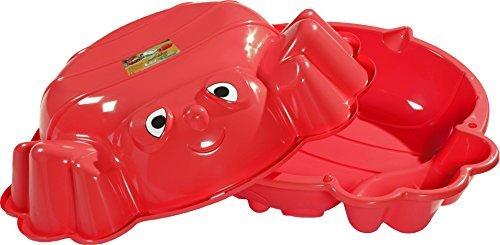 KHW 72001 – Sand-und Wassermuschel Beach Bee, Sandspielzeug, rot by KHW kaufen