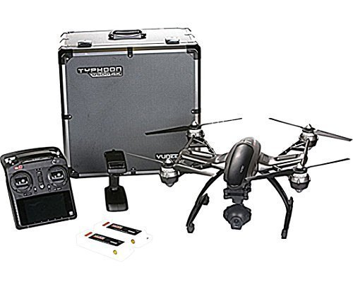 Yuneec Q500 4K Typhoon Quadcopter Drone RTF Aluminum Case with CGO3 Camera+ST10+ Steady Grip