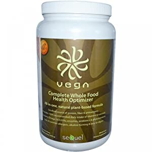 Sequel Naturals Vega Complete Whole Food Health Optimizer Chocolate -- 37.8 oz