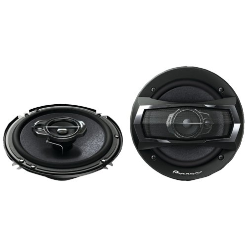 "Pioneer Ts-A1675R 6-1/2"" 3-Way Ts Series Coaxial Car Speakers"