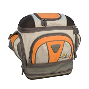 Plano Guide Series Bag with Four 3650 Stowaways (Orange/Grey, Medium)