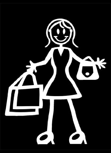 my-stick-figure-family-famiglia-vinile-adesivi-auto-mamma-con-borse-della-spesa-f13