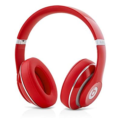 Beats by Dr. Dre Studio 2.0 Wireless Over-Ear Headphones with RemoteTalk Cable (Red)