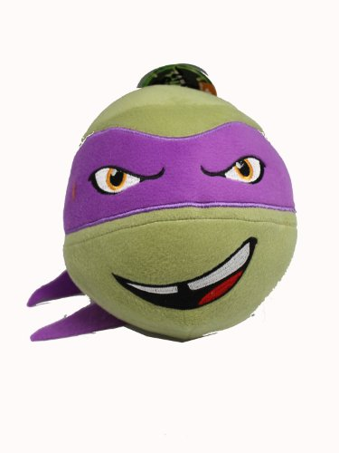 Teenage Mutant Ninja Turtle Head Plush Ball (Donatello) - 1