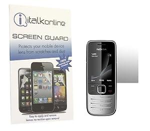 iTALKonline S-Protect LCD Screen Protector & Micro Panno di pulizia in fibra ottica - Nokia 2730