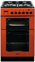 Baumatic BCG520R Gas Cooker Free Standing Red from Baumatic