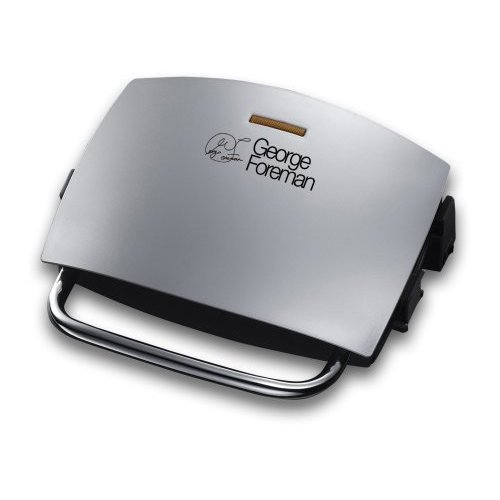 The George Foreman 14181 looks sleek and makes very tasty sandwiches.