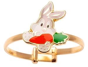 14K Gold Bugs Bunny Ring