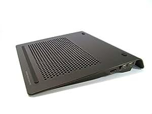 Zalman ZM-NC1000 Alu Notebook Lüfter (1 Port USB Hub) schwarz