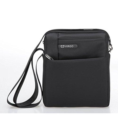 KIU Sacs à bandoulière pour hommes/Sac de messager/ Oxford chiffon diagonale forfait entreprise sac en nylon /[Nylon sac de loisirs]