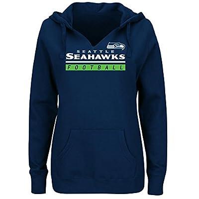 """Seattle Seahawks Women's Majestic NFL """"Determination"""" Hooded Sweatshirt"""