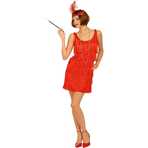 Red Flapper Plus Size Costume - X-Large