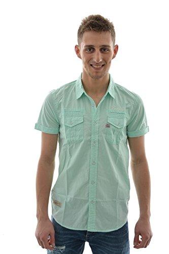 Camicia a maniche corte, 5 kaput kaporal, colore: verde verde L