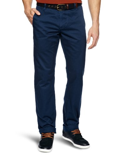 Dockers Alpha Khaki Tapered Men's Trousers 0080 Loreto Blue W36INxL34IN