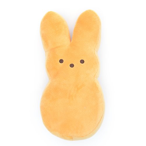 Perfectly Plush Peep Pillow - Orange